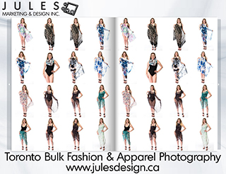 Toronto Bulk Fashion & Apparel Photography
