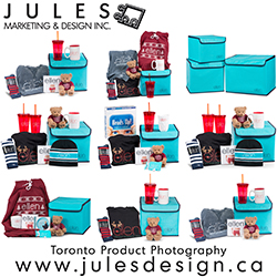 Toronto Gift Basket Product Photography CGTA Canadian Gift Trading Association