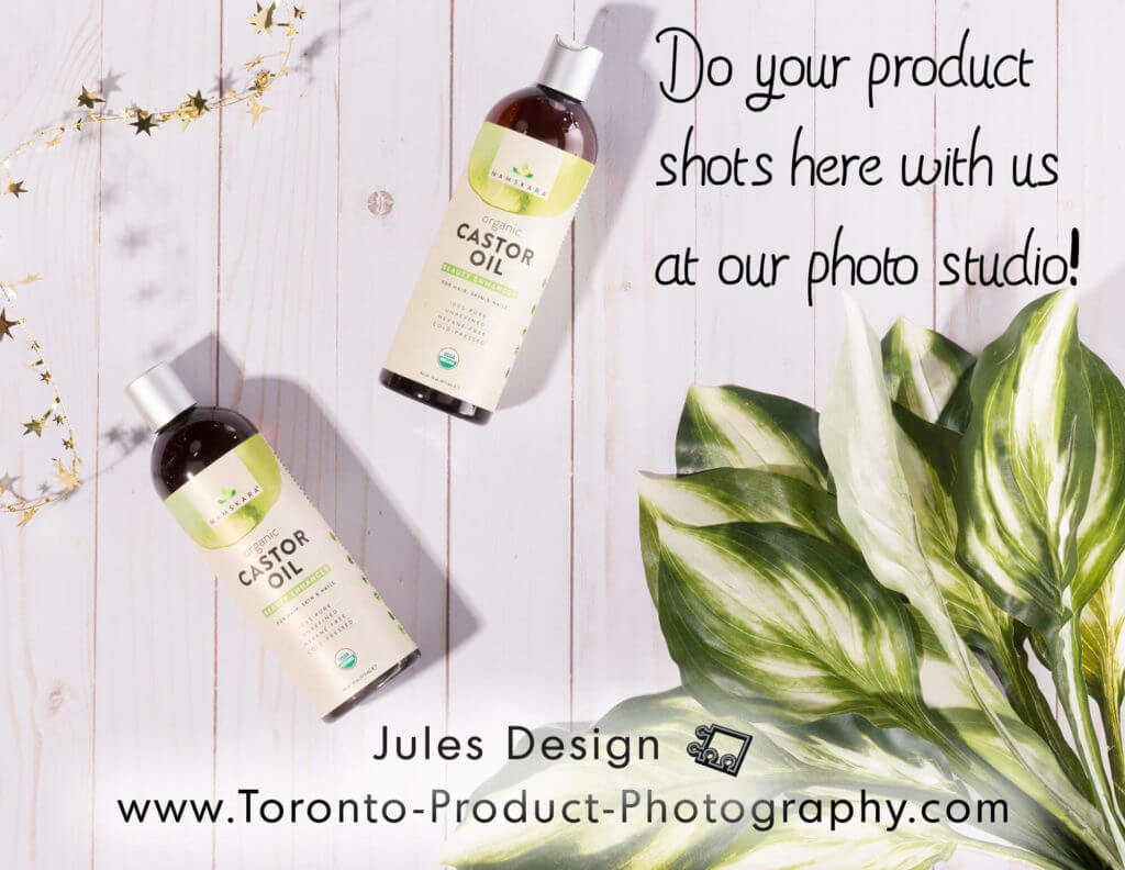 Cosmetic Photography Studio Toronto Using Props