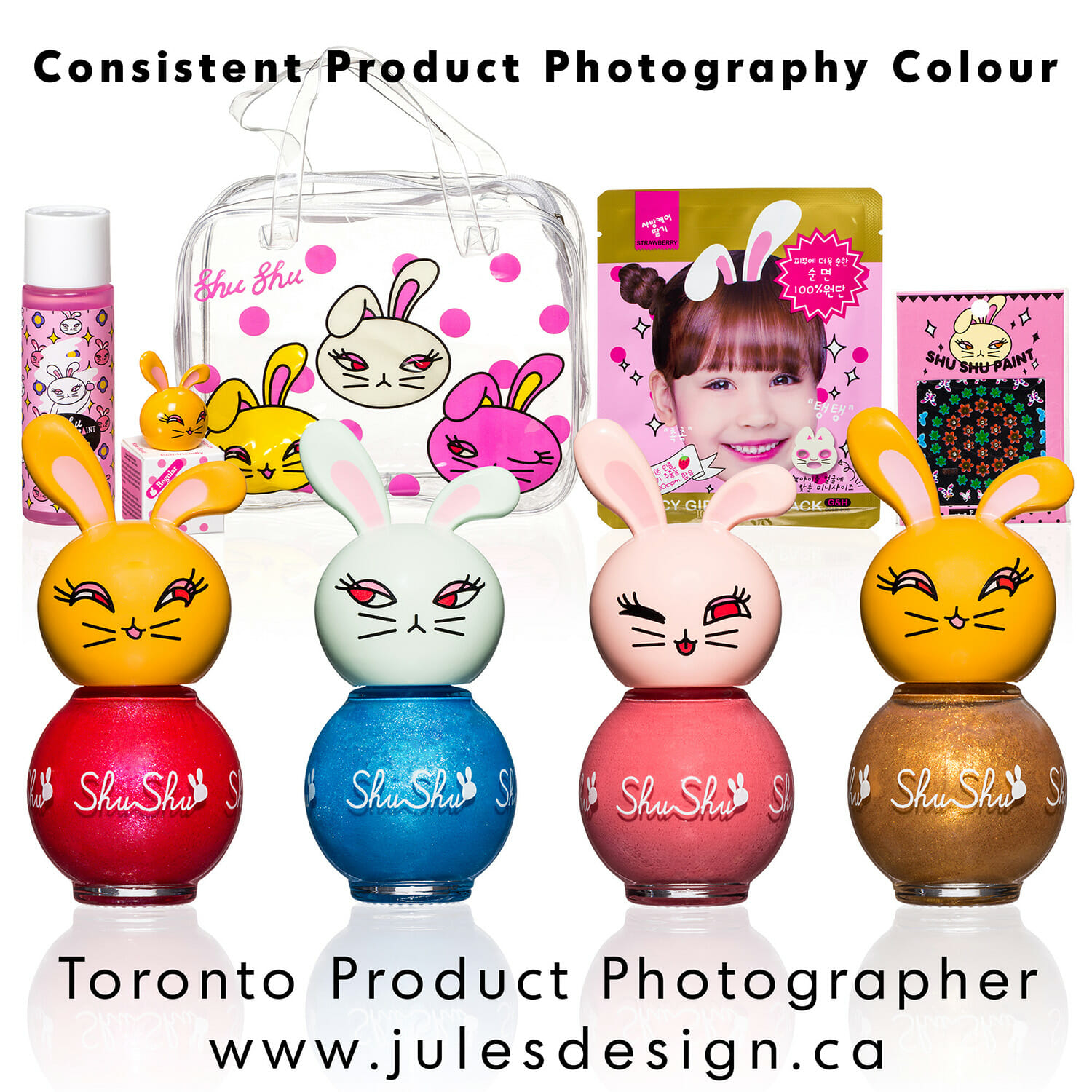 Consitent Colour Commercial Cosmetics Photographer Example