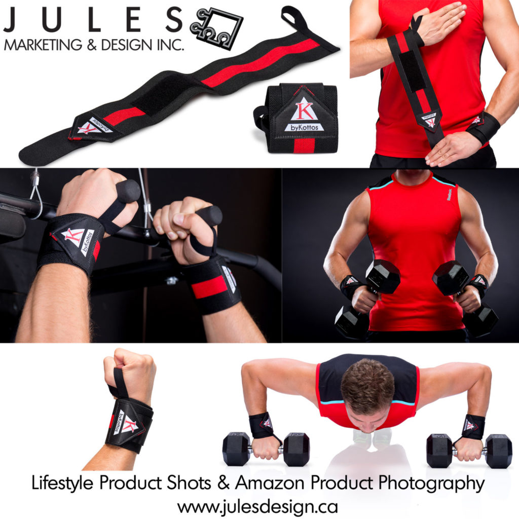Amazon Secondary Image or Toronto Lifestyle Product Photography Example